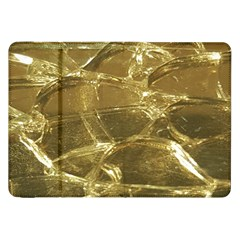 Gold Bar Golden Chic Festive Sparkling Gold  Samsung Galaxy Tab 8 9  P7300 Flip Case by yoursparklingshop