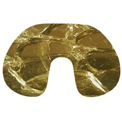 Gold Bar Golden Chic Festive Sparkling Gold  Travel Neck Pillows by yoursparklingshop