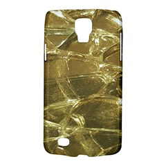 Gold Bar Golden Chic Festive Sparkling Gold  Galaxy S4 Active by yoursparklingshop