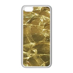 Gold Bar Golden Chic Festive Sparkling Gold  Apple Iphone 5c Seamless Case (white) by yoursparklingshop