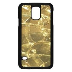Gold Bar Golden Chic Festive Sparkling Gold  Samsung Galaxy S5 Case (black) by yoursparklingshop