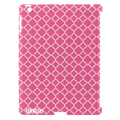 Soft Pink Quatrefoil Pattern Apple Ipad 3/4 Hardshell Case (compatible With Smart Cover) by Zandiepants