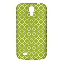 Spring Green Quatrefoil Pattern Samsung Galaxy Mega 6 3  I9200 Hardshell Case by Zandiepants