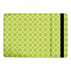 Spring Green Quatrefoil Pattern Samsung Galaxy Tab Pro 10 1  Flip Case by Zandiepants