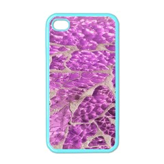 Festive Chic Pink Glitter Stone Apple Iphone 4 Case (color) by yoursparklingshop