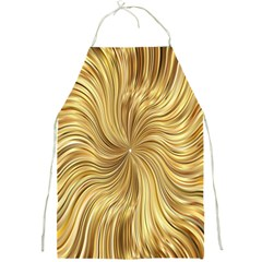 Chic Festive Elegant Gold Stripes Full Print Aprons by yoursparklingshop