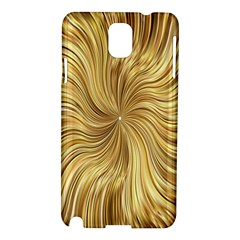 Chic Festive Elegant Gold Stripes Samsung Galaxy Note 3 N9005 Hardshell Case by yoursparklingshop