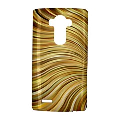 Chic Festive Gold Brown Glitter Stripes LG G4 Hardshell Case by yoursparklingshop