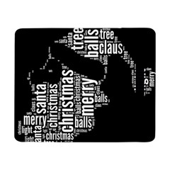 Funny Santa Black And White Typography Samsung Galaxy Tab Pro 8.4  Flip Case by yoursparklingshop