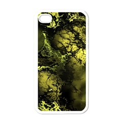 Amazing Fractal 24 Apple Iphone 4 Case (white) by Fractalworld