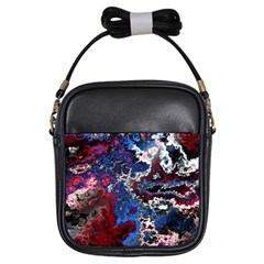 Amazing Fractal 28 Girls Sling Bags