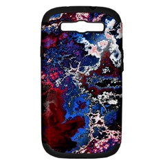 Amazing Fractal 28 Samsung Galaxy S Iii Hardshell Case (pc+silicone) by Fractalworld