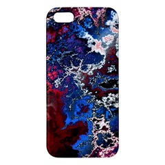 Amazing Fractal 28 Apple Iphone 5 Premium Hardshell Case by Fractalworld