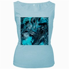 Fractal 30 Women s Baby Blue Tank Top by Fractalworld