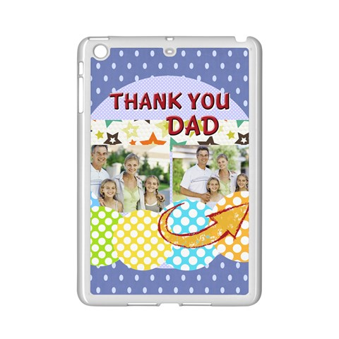 Dad By Dad   Apple Ipad Mini 2 Case (white)   Cgwf0fbi4ws3   Www Artscow Com Front