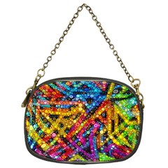 Color Play In Bubbles Chain Purses (two Sides)  by KirstenStar