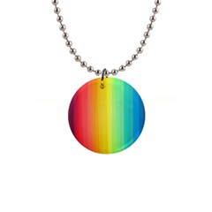 Sweet Colored Stripes Background Button Necklaces by TastefulDesigns