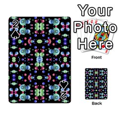 Multicolored Galaxy Pattern Playing Cards 54 Designs  by dflcprints