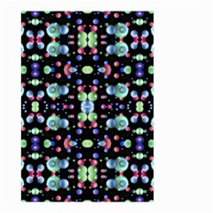 Multicolored Galaxy Pattern Small Garden Flag (two Sides) by dflcprints