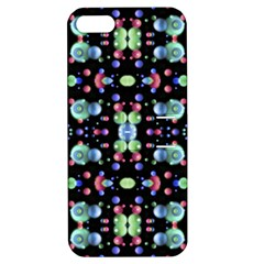 Multicolored Galaxy Pattern Apple Iphone 5 Hardshell Case With Stand by dflcprints
