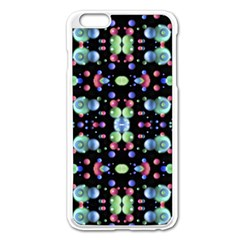 Multicolored Galaxy Pattern Apple Iphone 6 Plus/6s Plus Enamel White Case by dflcprints