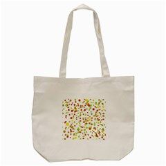 Colorful Fall Leaves Background Tote Bag (cream) by TastefulDesigns