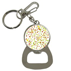 Colorful Fall Leaves Background Bottle Opener Key Chains by TastefulDesigns