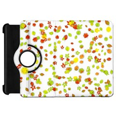 Colorful Fall Leaves Background Kindle Fire Hd Flip 360 Case by TastefulDesigns