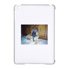 Puppy Belgian Tervueren Apple iPad Mini Hardshell Case (Compatible with Smart Cover) by TailWags