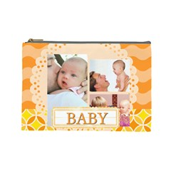Baby By Baby   Cosmetic Bag (large)   45sqeh9ku3ld   Www Artscow Com Front