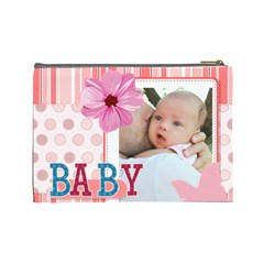Baby By Baby   Cosmetic Bag (large)   Fl2l35k1reaf   Www Artscow Com Back