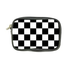 Checkered Flag Race Winner Mosaic Tile Pattern Coin Purse by CrypticFragmentsColors