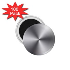 Shiny Metallic Silver 1.75  Magnets (100 pack)  by yoursparklingshop