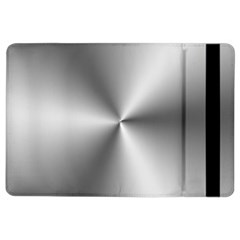 Shiny Metallic Silver Ipad Air 2 Flip by yoursparklingshop