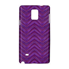 Grunge Chevron Style Samsung Galaxy Note 4 Hardshell Case by dflcprints