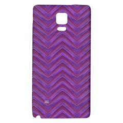 Grunge Chevron Style Galaxy Note 4 Back Case by dflcprints