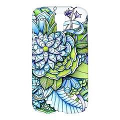 Peaceful Flower Garden 1 Samsung Galaxy S4 I9500/i9505 Hardshell Case by Zandiepants