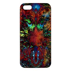 Boho Bohemian Hippie Floral Abstract Iphone 5s/ Se Premium Hardshell Case by CrypticFragmentsDesign