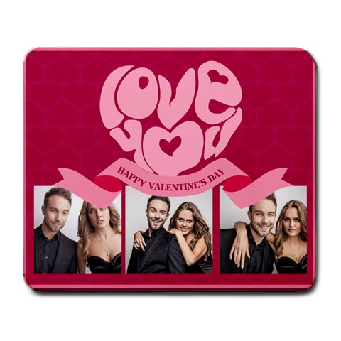 Love Story By Love   Large Mousepad   H8jkywbccljf   Www Artscow Com Front
