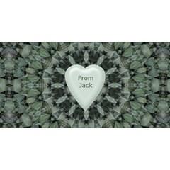 Dad 3d Greeting Card By Deborah   #1 Dad 3d Greeting Card (8x4)   30d8vags3vei   Www Artscow Com Back