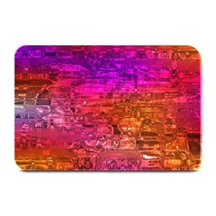 Purple Orange Pink Colorful Art Plate Mats by yoursparklingshop