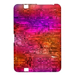 Purple Orange Pink Colorful Art Kindle Fire Hd 8 9  by yoursparklingshop