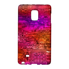 Purple Orange Pink Colorful Art Galaxy Note Edge by yoursparklingshop