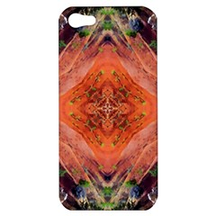 Boho Bohemian Hippie Floral Abstract Faded  Apple Iphone 5 Hardshell Case by CrypticFragmentsDesign