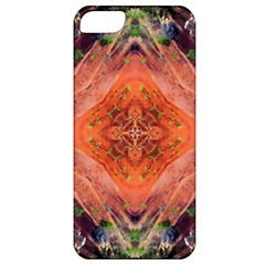 Boho Bohemian Hippie Floral Abstract Faded  Apple Iphone 5 Classic Hardshell Case by CrypticFragmentsDesign