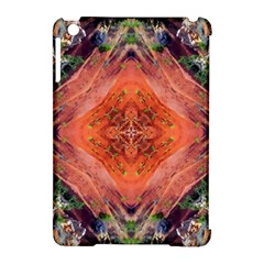Boho Bohemian Hippie Floral Abstract Faded  Apple Ipad Mini Hardshell Case (compatible With Smart Cover) by CrypticFragmentsDesign