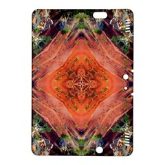 Boho Bohemian Hippie Floral Abstract Faded  Kindle Fire Hdx 8 9  Hardshell Case by CrypticFragmentsDesign