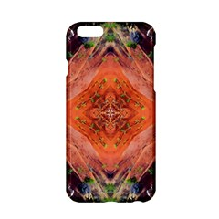 Boho Bohemian Hippie Floral Abstract Faded  Apple Iphone 6/6s Hardshell Case by CrypticFragmentsDesign