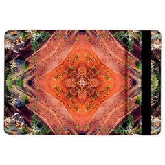 Boho Bohemian Hippie Floral Abstract Faded  Ipad Air 2 Flip by CrypticFragmentsDesign