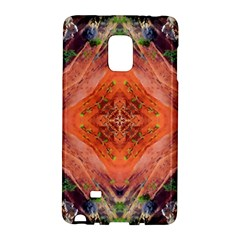 Boho Bohemian Hippie Floral Abstract Faded  Galaxy Note Edge by CrypticFragmentsDesign